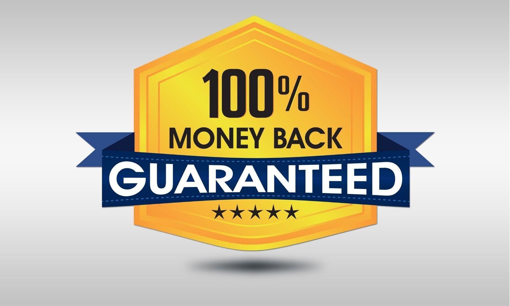 100 % garancia vrátenia peňazí