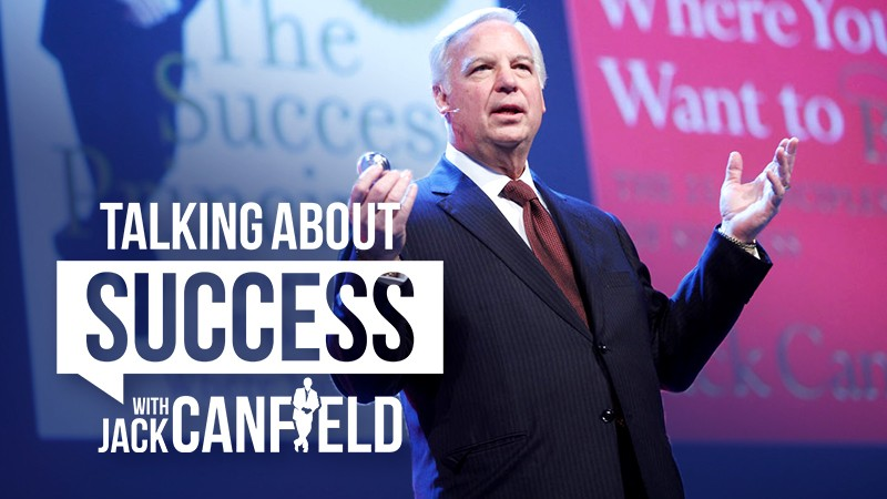 Jack Canfield-talking-about-success